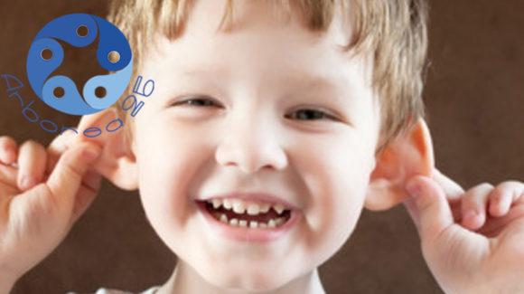 Lo sai che l'otite nei bambini può derivare derivare da una deglutizione atipica?